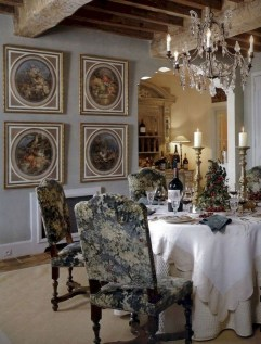 Stunning Country Dining Room Design Ideas14