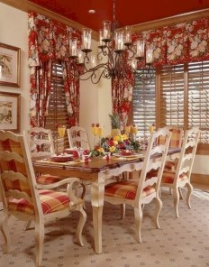 Stunning Country Dining Room Design Ideas32