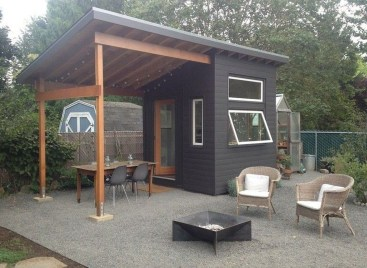 Awesome Comfy Backyard Studio Ideas07