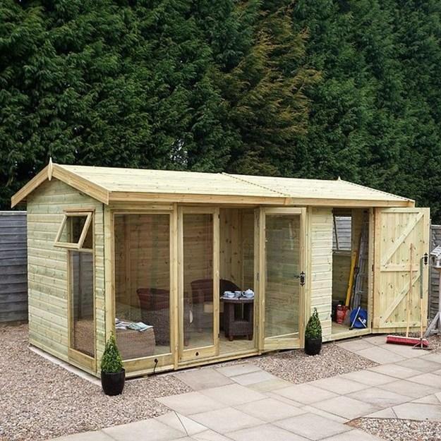Awesome Comfy Backyard Studio Ideas15