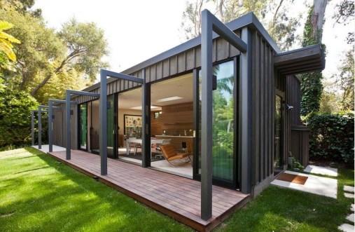 Awesome Comfy Backyard Studio Ideas16