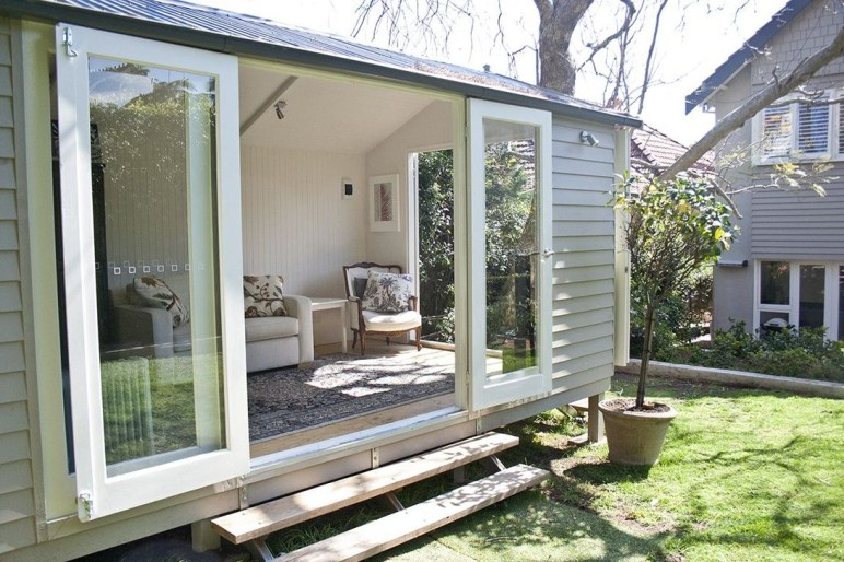 Awesome Comfy Backyard Studio Ideas26