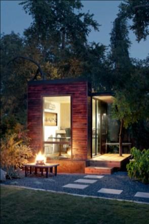 Awesome Comfy Backyard Studio Ideas32