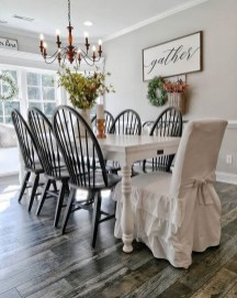Awesome Country Dining Room Table Decor Ideas01