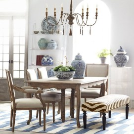 Awesome Country Dining Room Table Decor Ideas03