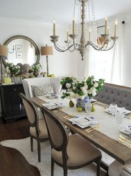 Awesome Country Dining Room Table Decor Ideas14