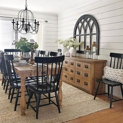 Awesome Country Dining Room Table Decor Ideas25