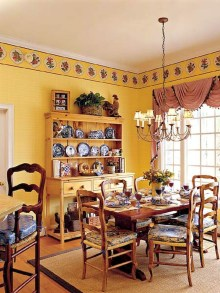Awesome Country Dining Room Table Decor Ideas36