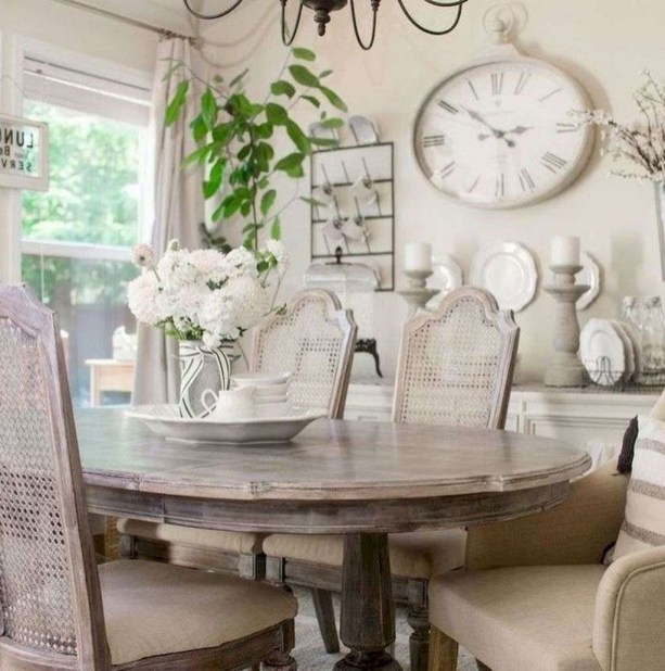 Awesome Country Dining Room Table Decor Ideas42