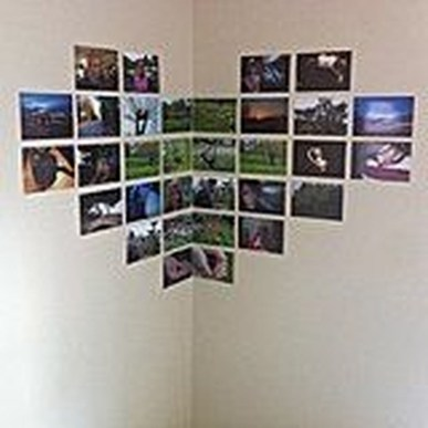 Awesome Creative Collage Apartment Decoration27