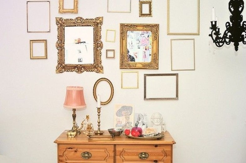 Awesome Creative Collage Apartment Decoration45