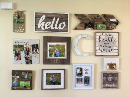 Awesome Creative Collage Apartment Decoration48
