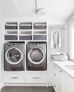 Beautiful Laundry Room Tile Design05