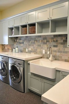 Beautiful Laundry Room Tile Design26