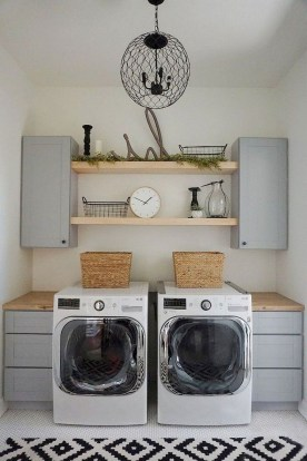 Beautiful Laundry Room Tile Design36