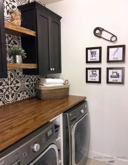Beautiful Laundry Room Tile Design44