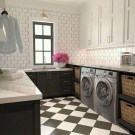 Beautiful Laundry Room Tile Design45