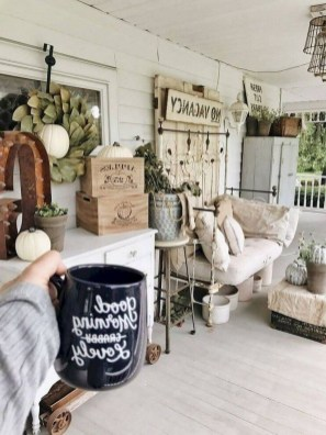 Exciting Small Balcony Decorating For Farmhouse32