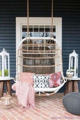 Exciting Small Balcony Decorating For Farmhouse33