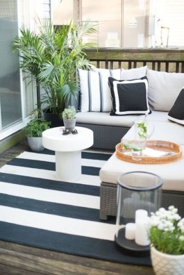 Exciting Small Balcony Decorating For Farmhouse34