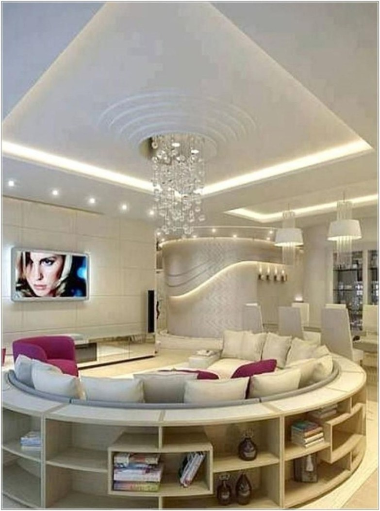Luxurious And Elegant Living Room Design Ideas09