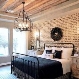 Modern Bedroom For Farmhouse Design20