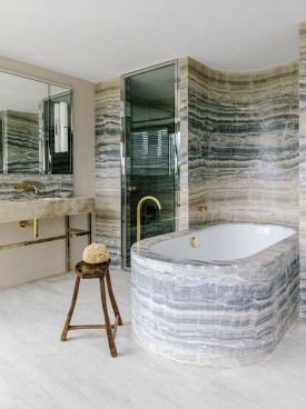 Simple Stone Bathroom Design Ideas21