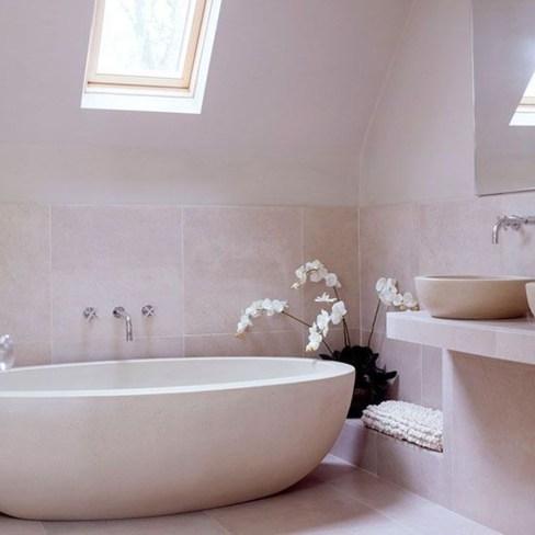 Simple Stone Bathroom Design Ideas24