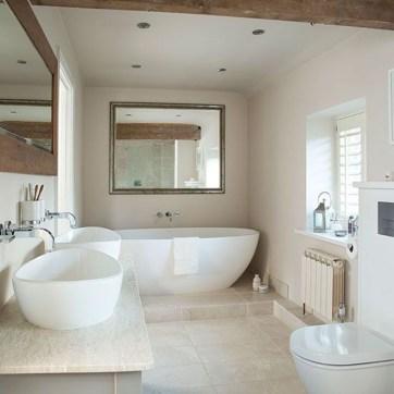 Simple Stone Bathroom Design Ideas33
