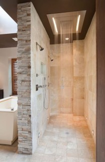 Simple Stone Bathroom Design Ideas39