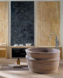 Simple Stone Bathroom Design Ideas48