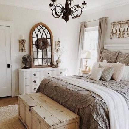 Smart Modern Farmhouse Style Bedroom Decor06