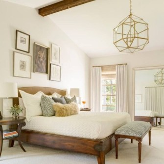 Smart Modern Farmhouse Style Bedroom Decor47