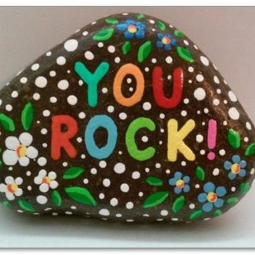 Smart Painted Rock Ideas Home Decoration01
