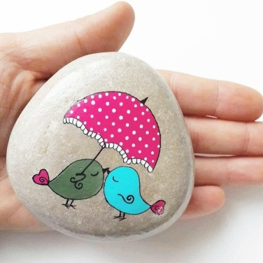 Smart Painted Rock Ideas Home Decoration09