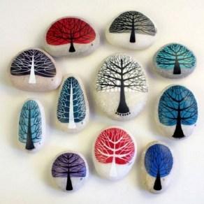Smart Painted Rock Ideas Home Decoration28