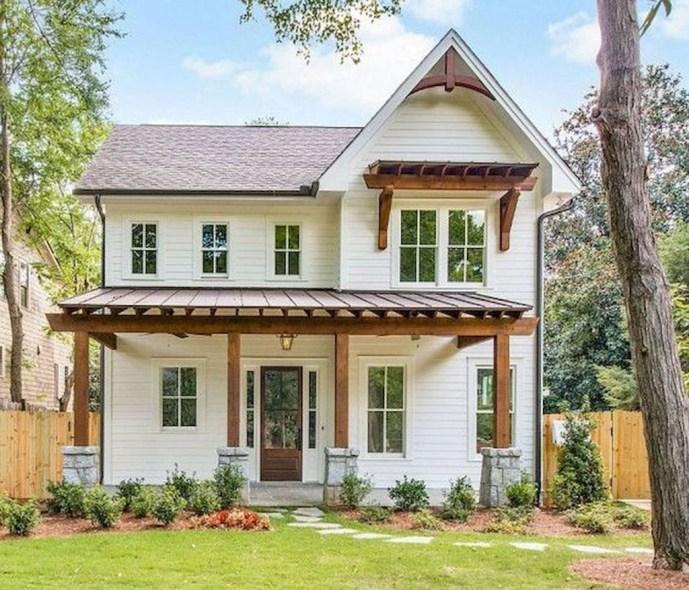 Top Modern Farmhouse Exterior Design26