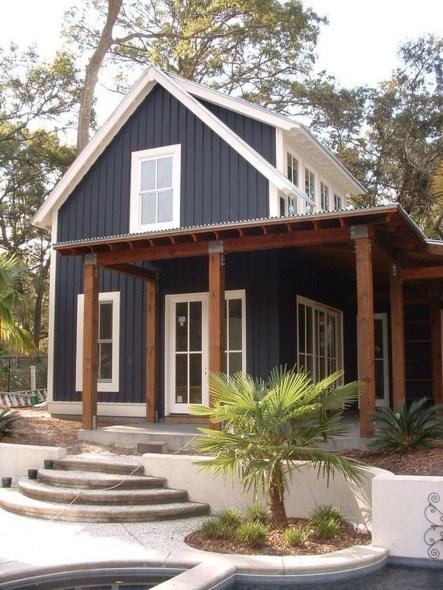 Top Modern Farmhouse Exterior Design27