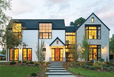Top Modern Farmhouse Exterior Design28