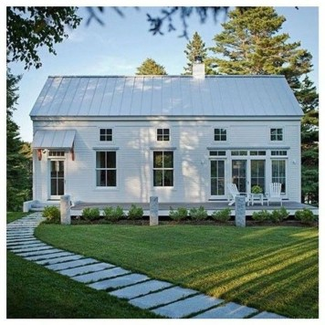 Top Modern Farmhouse Exterior Design44