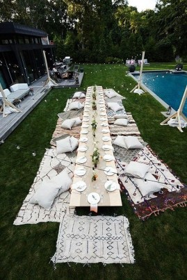 Amazing Wedding Decor Inspiration For Outdoor Party09