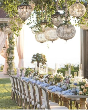 Amazing Wedding Decor Inspiration For Outdoor Party24