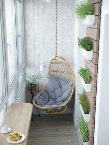 Awesome Small Balcony Ideas For Apartment14