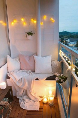 Awesome Small Balcony Ideas For Apartment18