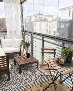 Awesome Small Balcony Ideas For Apartment19