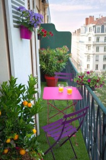 Awesome Small Balcony Ideas For Apartment38