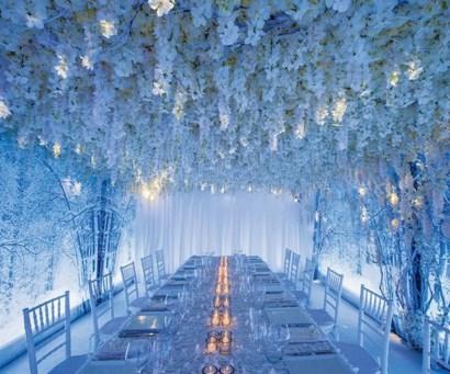 Awesome Winter Wonderland Wedding Decoration17