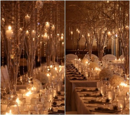 Awesome Winter Wonderland Wedding Decoration21