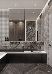 Bathroom Concept With Stunning Tiles12