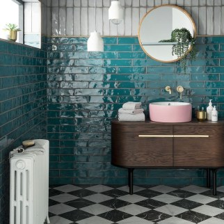 Bathroom Concept With Stunning Tiles23